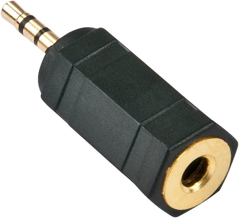 Lindy 35622 Stereo Audio Adapter 2 5mm Klinkenstecker Computer Zubehör
