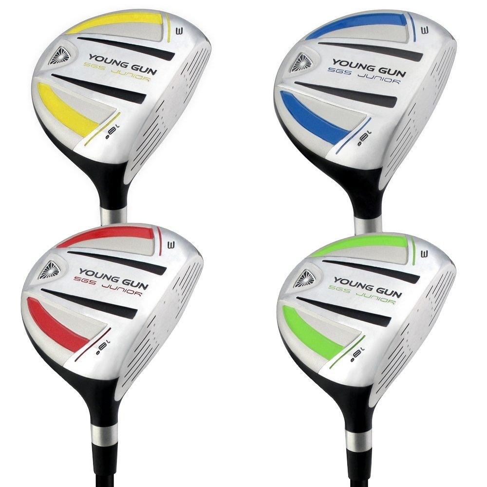 最新作 ヤングガンSGS v3 Junior Golf Right Hand Clubs # 3木製  Green-12-14 years B01BHSJQXA, 平取町 e30e1529