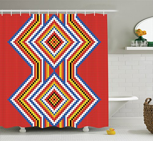 Ambesonne American Traditional Bathroom Accessories