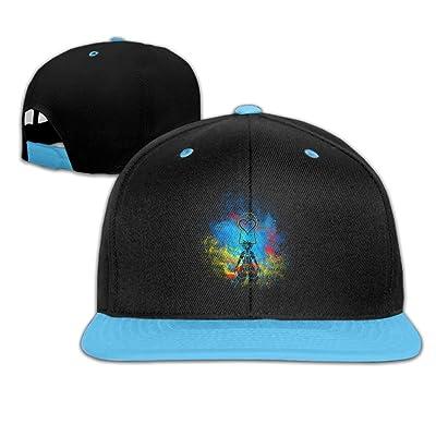 8885b52ce37 ... spain big girls kingdom hearts flat brim baseball snapback hat f98b5  4f170