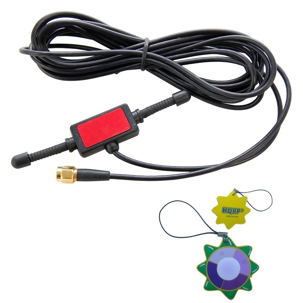 Car GSM Phone Mobile Phone HQRP UV Meter HQRP 433MHz 2dbi GSM Antenna SMA male tentacle 3m RG174 cable w// Universal CMMB Patch for Digital Cellular Alarm Communicator