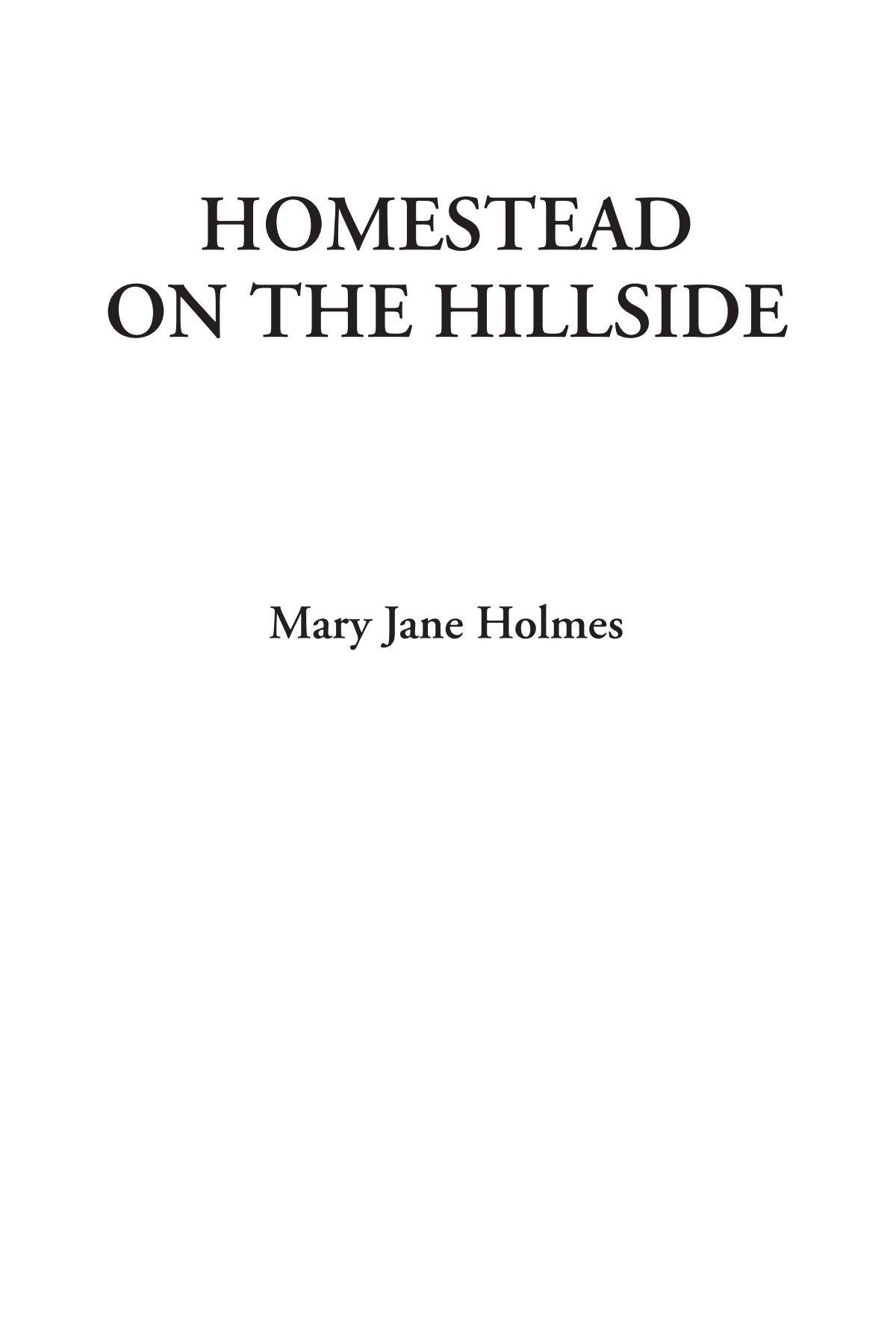 Download Homestead on the Hillside PDF