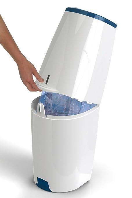 Angel Care Comfort – Cubo para pañales, color blanco