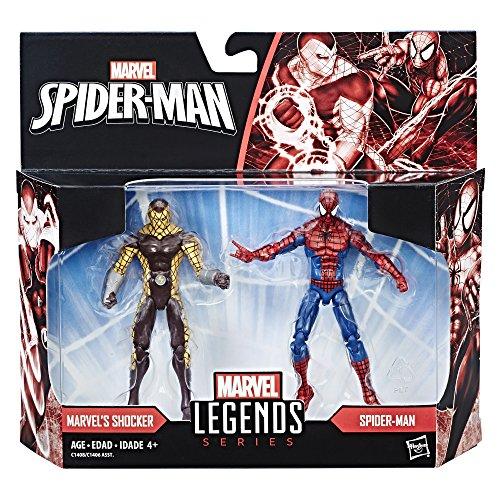 Marvel Legends Spider-Man & Shocker Figures 2-Pack, 3.75-inch