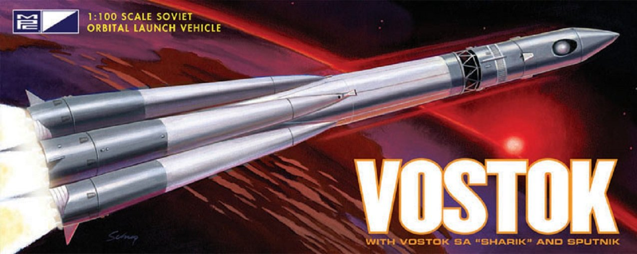 Round2 MPC792 - 1/100 Vostok-Rakete Fertigmodell