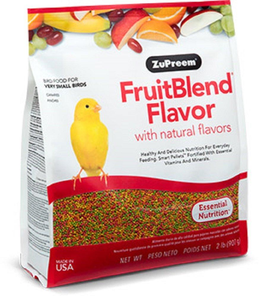 ZuPreem 230300 Fruitblend X-Small Canary/FInch Food, 2-Pound