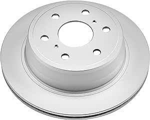 Disc Brake Rotor-Rear Genuine Geomet Coated Rotor Rear Power Stop AR85124EVC