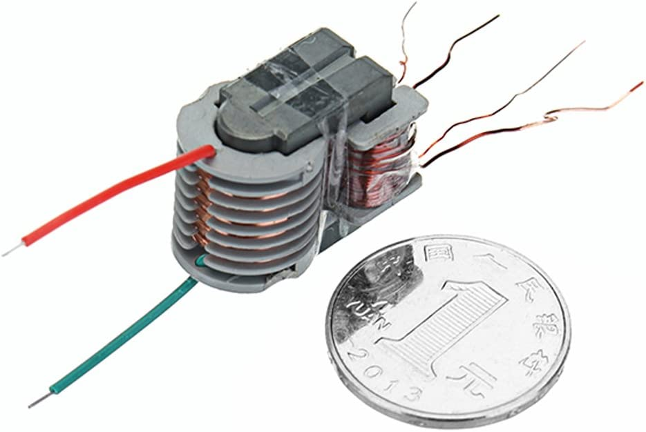 MYAMIA 15Kv Alta Frecuencia Alta Tensi/ón Transformador Alta Tensi/ón Bobina Impulso Inversor Plasma Impulsar La Bobina