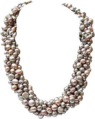 collier perle plusieurs rangs