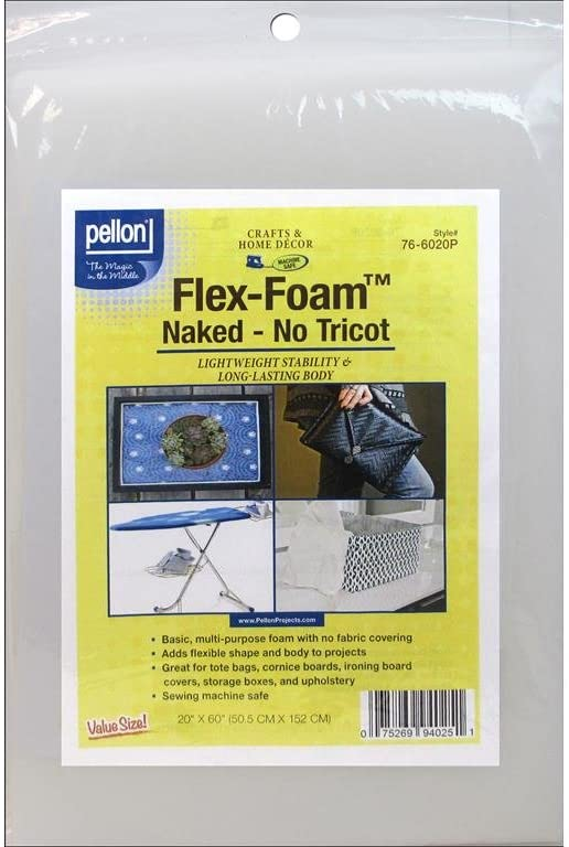 Pellon PEL76 Flex Form Naked Foam 20 X 10yd