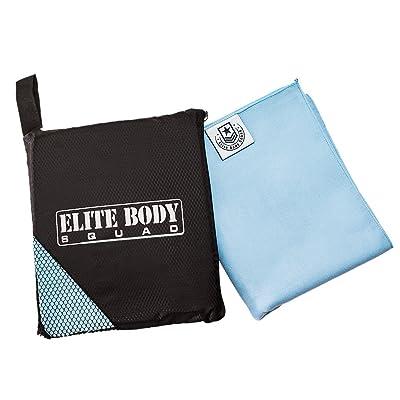 Elite Body Squad Serviette de yoga–ÂMicrofibres de haute qualité léger et très absorbant–ÂId&Atilde