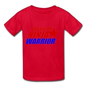 sanyou Kid s cool American Guerrero Ninja Logo Camisetas ...