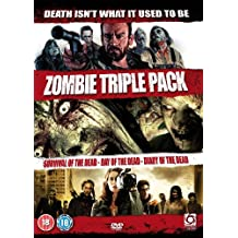 Zombie Triple - Survival Of The Dead & Day Of The Dead (Remake) & Diary Of The Dead