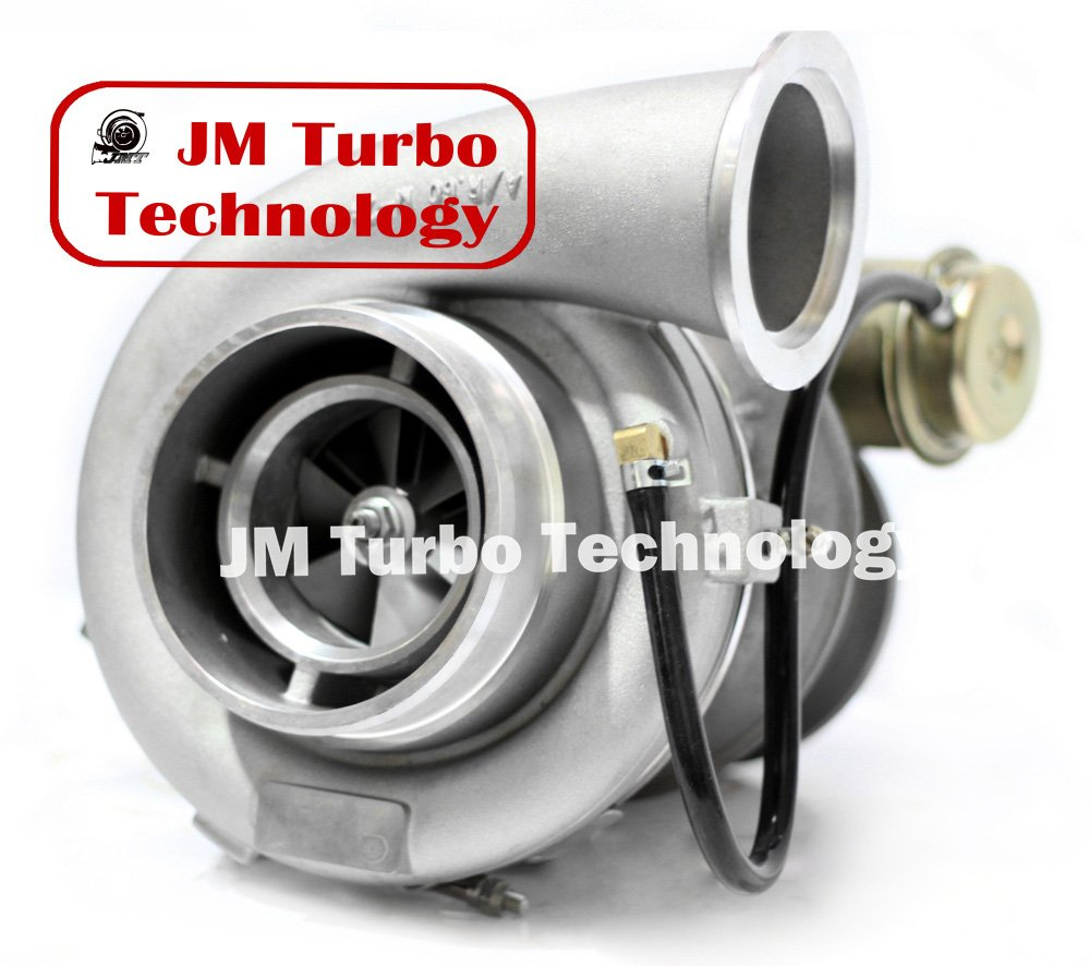 Detroit Series 60 127l Turbocharger With Wastegate Kenworth T800 Wiring Diagram Det Actuator Brand New Turbo Automotive