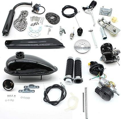Kit de motor de bicicleta de 80 cc – Kit de motor de gasolina de 2 tiempos,