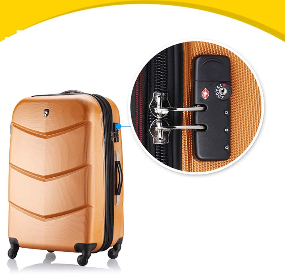 Travel Bags Trolley Case 20 Inches Universal Wheel Boarding Baggage Luggage Suitcases Carry On Hand Luggage Durable Hold Tingting Color : Flower1, Size : 365923