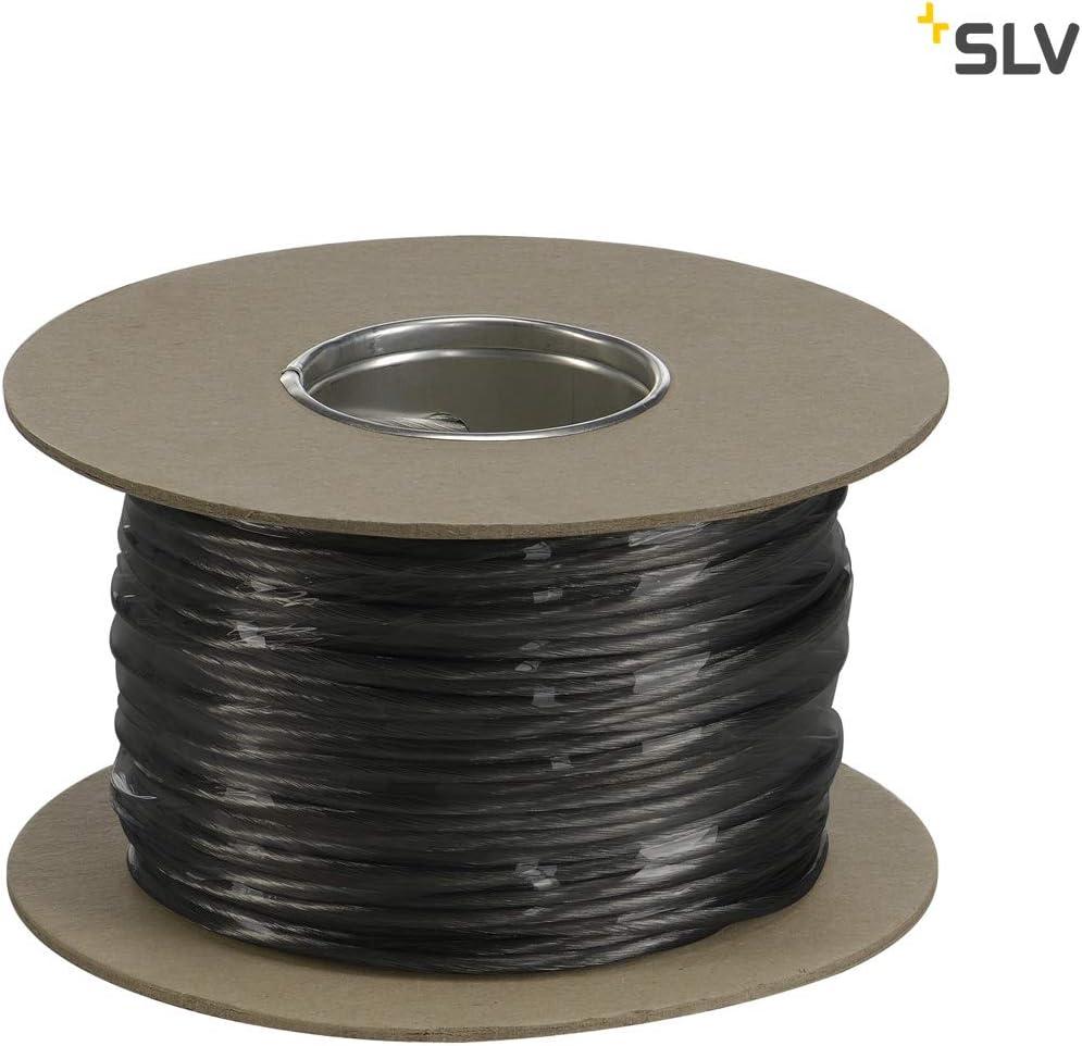 cobre//pl/ástico 20m 4mm/² SLV hal/ógenos de bajo cuerda tenseo Negro