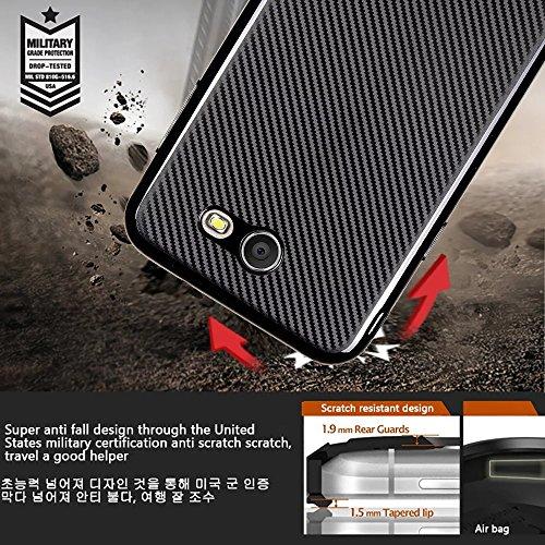 SRY Cubierta suave a prueba de choques híbrida de goma delgada de la caja de TPU para Samsung Galaxy J7 2017 J720 ( Color : Gold ) Gold