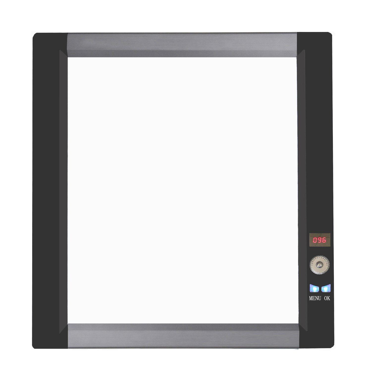 Ultra Slim LED X Ray Film Viewer, X Ray Illuminator, X Ray View Box, Negatoscope,Medical Film Viewer (Single Section)