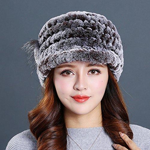 opción Mezcla 07 color Invierno Hierba Múltiple Mujer Color Cálido 03 Felpa De Sombrero 0qPEgHP