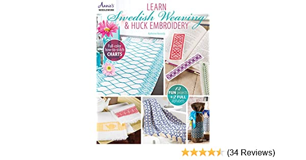 Learn Swedish Weaving Huck Embroidery Annies Needlework