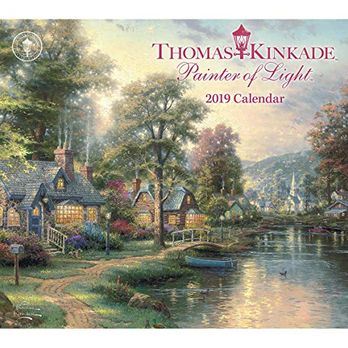 Thomas Kinkade Painter of Light 2018 Deluxe Wall ()