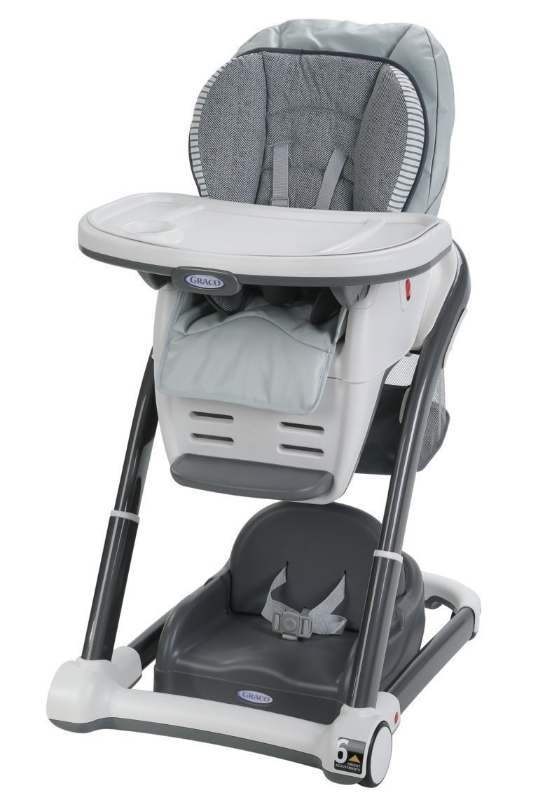 Graco Blossom LX 6-in-1 Convertible Highchair, Raleigh