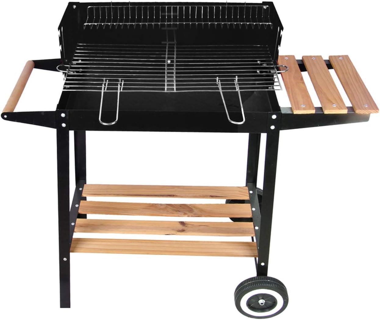 Barbacoa de carbón, carbón de madera y metal Brasero ...