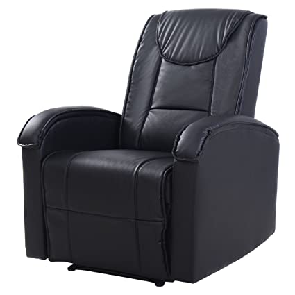 Etonnant New MTM G Ergonomic Sofa Chair Recliner Lounge Deluxe PU Leather Home  Furniture Black