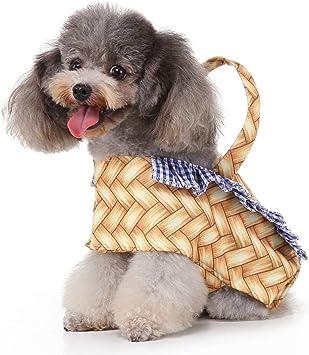 Disfraz de Navidad para Perro de Color Fucsia, Cesta de Mano para ...