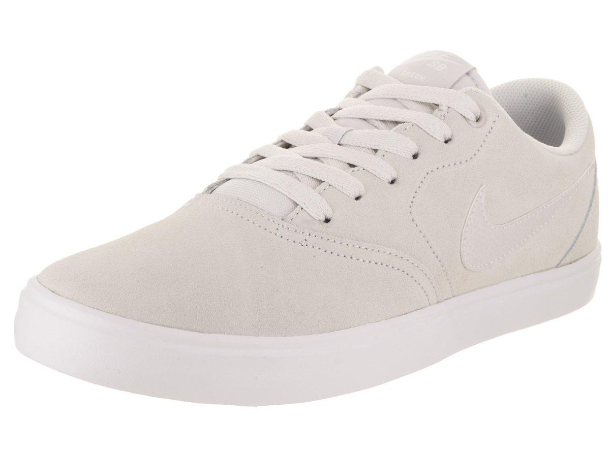 NIKE Unisex SB Check Solar Skate Shoe B004U75LX0 7.5 D(M) US / 9 B(M) US|Vast Grey/Vast Grey White