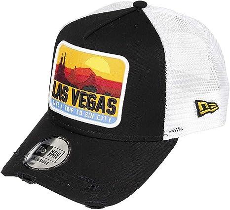 New Era Distressed Vegas 940 AF Trucker Ne Blk Gorra, Unisex ...