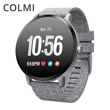 Amazon.com: COLMI V11 Smart Watch IP67 Waterproof Tempered ...