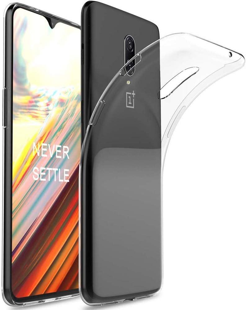 REY Funda Carcasa Gel Transparente para ONEPLUS 6T / One Plus 6T, Ultra Fina 0,33mm, Silicona TPU de Alta Resistencia y Flexibilidad: Amazon.es: Electrónica