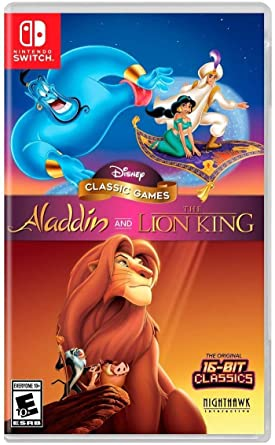 Disney Classic Games: Aladdin and the Lion for Nintendo Switch USA ...
