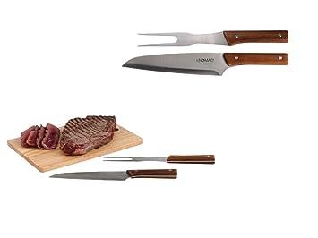 Tabla de cortar con cubiertos para trinchar madera Tabla de ...