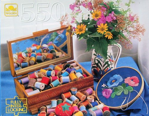 (550pc. Sewing Sampler Puzzle)
