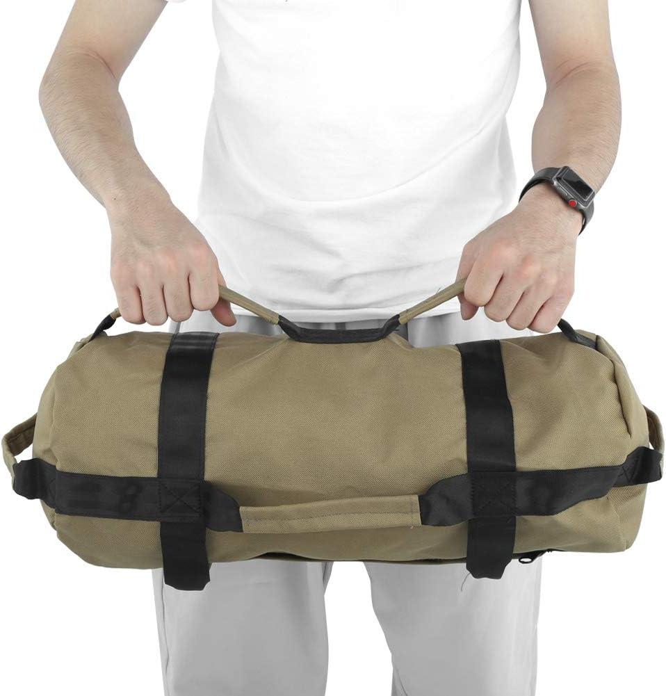 Gojiny Sacchi di Sabbia per Pesi Fitness Sacchi di Alimentazione Regolabili con Pesi in Sacchi di Sabbia per Allenamento Allaperto per Esercizi di Allenamento della Forza