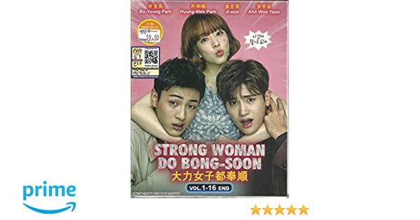 Amazon.com: STRONG WOMAN DO BONG-SOON - COMPLETE KOREAN TV SERIES (1-16 EPISODES)  DVD BOX SETS: Park Bo-young, Park Hyung-sik, Ji Soo, Lee Hyung-min: ...