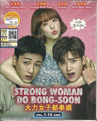 (STRONG WOMAN DO BONG-SOON - COMPLETE KOREAN TV SERIES ( 1-16 EPISODES ) DVD BOX SETS)