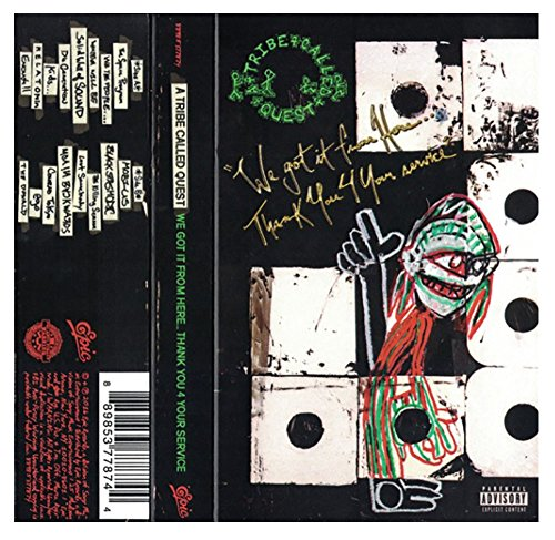 A Tribe Called Quest ‎- We Got It From Here... Thank You 4 Your Service Exclusive Limited Edition Gold Cassette