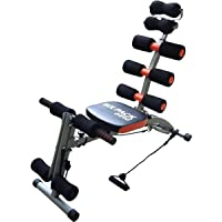 Six Pack Care Abdominal Machine, Black