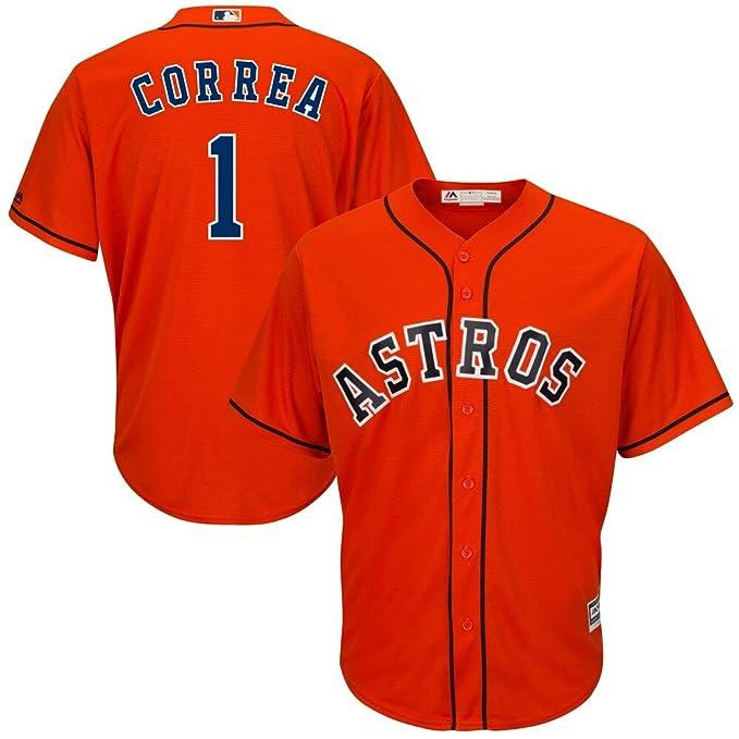 Carlos Correa Houston Astros 150th Anniversary Baseball Jersey - White