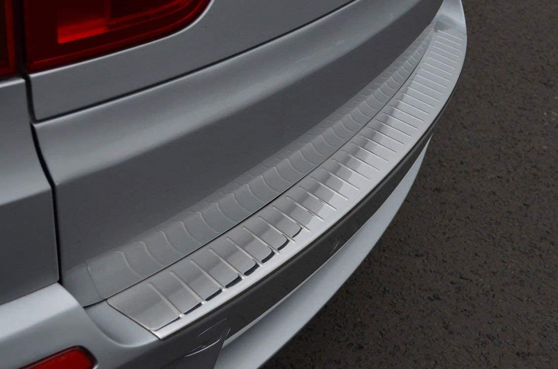 for BMW X5 E70 SUV 2006-2013 Stainless Steel CHROME Rear Bumper Protector Sill Guard Cover