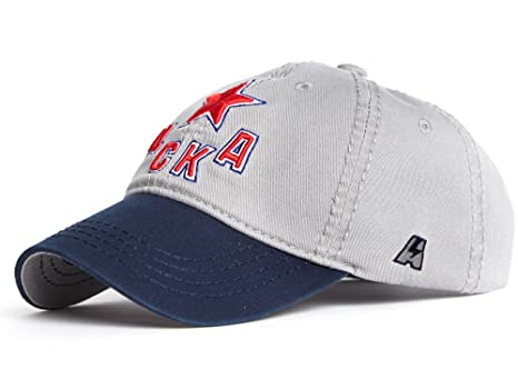 8ed52c0a Image Unavailable. Image not available for. Color: HC CSKA Moscow KHL cap  hat ...