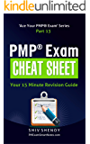 PMP® Exam Cheat Sheet: Your 15 Minute PMP® Revision Guide (Ace Your PMP® Exam Book 13) (English Edition)