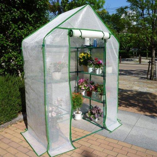 組立シキ簡易温室 セミグリーンジャンボ B0095D64H6