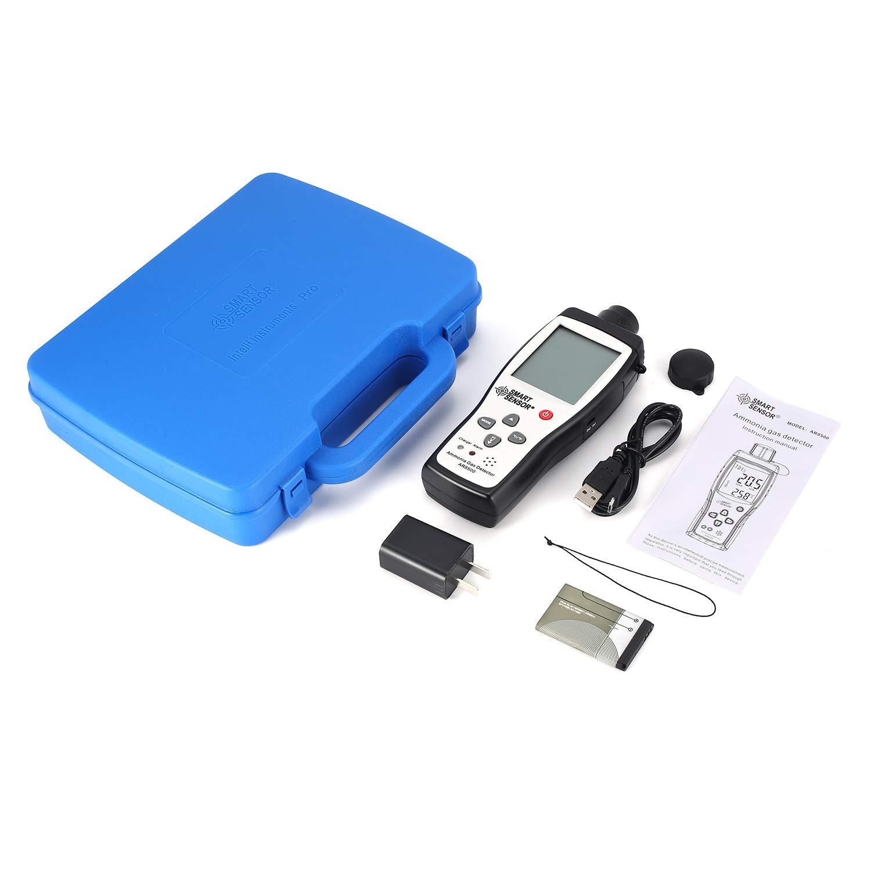 Smart Sensor AR8500 Air Quality Monitor Gas Meter Ammonia Temp Detector Analyzer Handheld Tester Temperature Thermometer