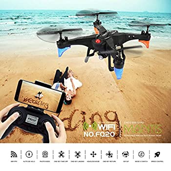2.4GHz Six Gyro Foldable Drone WIFI FPV Real-Time Video Remote Controlled Rechargeable Quadcopter Aircraft with HD Camera Mantis