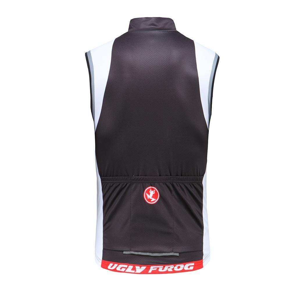 Uglyfrog RWE11 sans Manches de Cyclisme pour Hommes Course Maillot Cyclisme Triathlon V/élo V/êtements Vest Hiver//Automne Thermique Triathlon Gilet V/êtements de Sport de Plein air Cyclisme Maillot